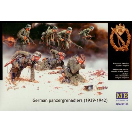 German panzergrenadiers. MASTER BOX 3518