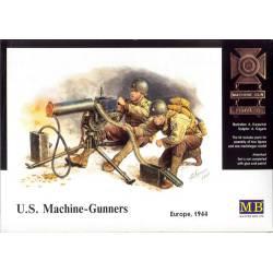 Ametralladora y soldados estadounidenses. MASTER BOX 3519