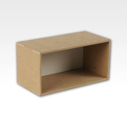 Storage hutch module.