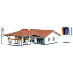 Service station.