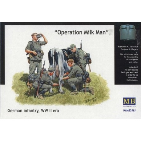 Operation milk man. MASTER BOX 3565