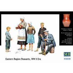 Citizenry. East european WW II era. MASTER BOX 3588