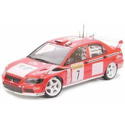 Mitsubishi Lancer Evolution VII WRC. TAMIYA 24257