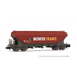 """Vagón tolva """"Monfer France""""."""