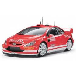 Peugeot 307 WRC. Montecarlo 2005. TAMIYA 24285