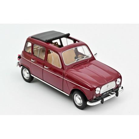Renault 4L, 1966. Dark red.