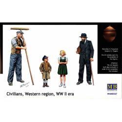Ciudadanos de las regiones occidentales. MASTER BOX 3567