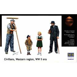 Civilians, Western region, WW II era. MASTER BOX 3567
