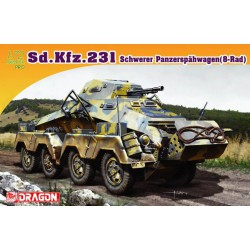 Sd.Kfz.231 Schwerer Panzerspahwagen.