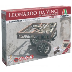 Self-propelling cart. Leonardo Da Vinci series.