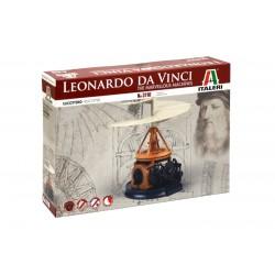 Helicóptero. Leonardo Da Vinci.