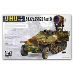 Vehículo militar Sd. Kfz. 251/20 Ausf. D. AFV CLUB 35116