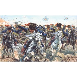 Húsares británicos. Guerra de Crimea.