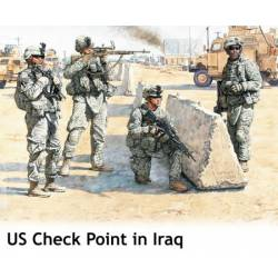 US Check Point in Iraq.