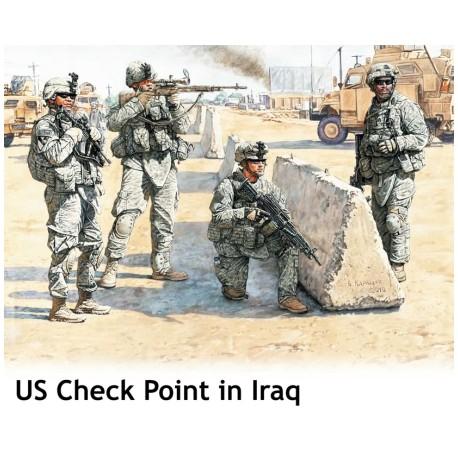 US Check Point in Iraq. MASTER BOX 3591