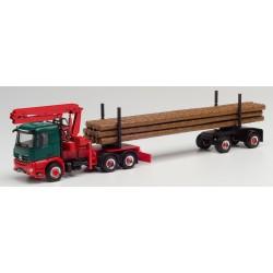 MB Arocs M Doll con carga de madera.