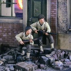 GI's on the Move Europe WWII.