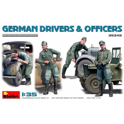 German drivers and officers.