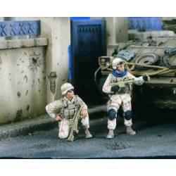 Patrulla estadounidense en Bagdad. VERLINDEN 2390