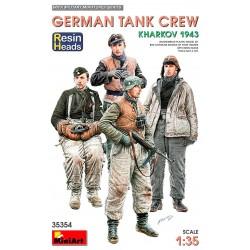 German tank crew. Kharkov 1943.