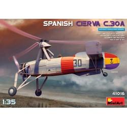 Autogiro Cierva C.30A español.