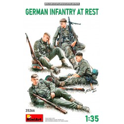 German Infantry at rest.