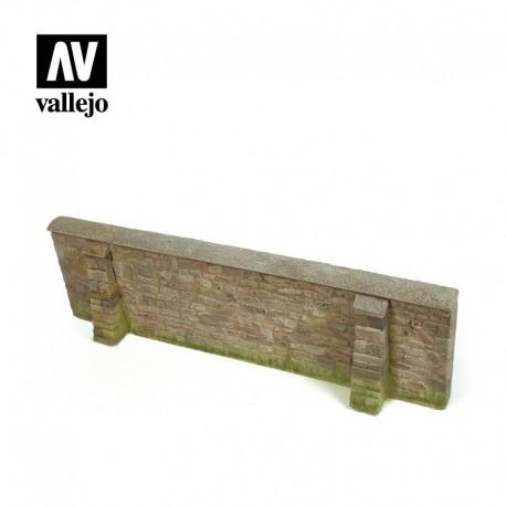 Ardennes Village Wall.