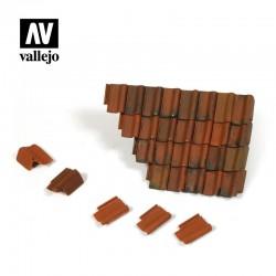 Roof Tiles Set.