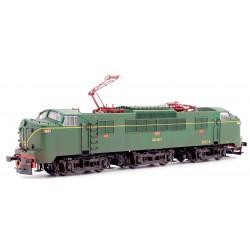 Locomotora eléctrica RENFE 278.018. Envejecida.