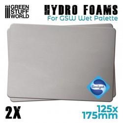 Hydro foams.