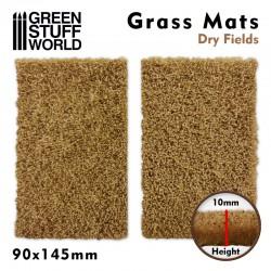 Grass Mat Cutouts - Brown Moor Fields.
