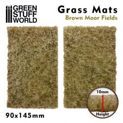 Tapetes de hierba, campos secos.