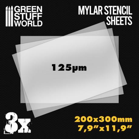 Mylar Stencil Sheets.