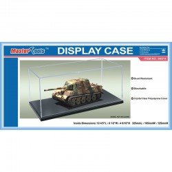 Display case. 364 x 186 x 121 mm.