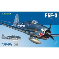 F6F-3 Hellcat, US WWII fighter.