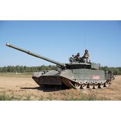Russian T-80BVM MBT.