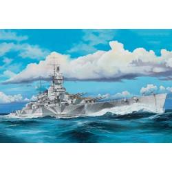 Italian Navy Battleship RN Vittorio Veneto 1940.