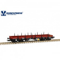 Vagón CP Lyv, sin carga.