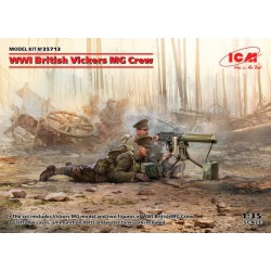 WWII British Vickers MG Crew.