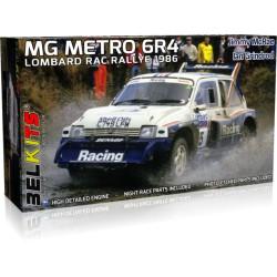 MG Metro 6R4, Rally de Lombardía (1986).