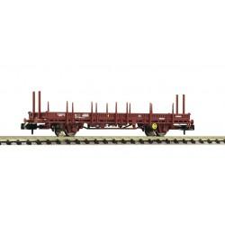 Vagón de teleros abatibles, RENFE.