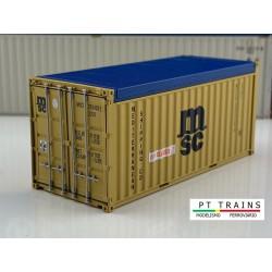 Container 20' MSC.