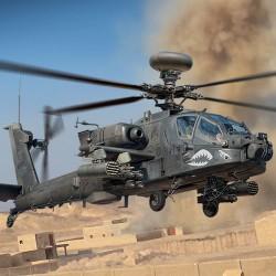 US Army AH-64D.