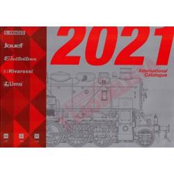 Catálogo Hornby 2021.