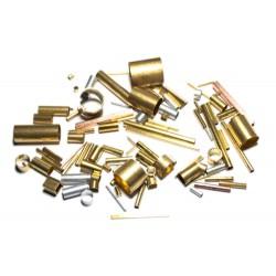 Set de tubos variados (latón, aluminio y cobre).