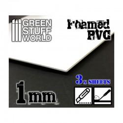 PVC espumado de 1.0 mm (x3).