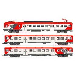 """RENFE, 3-unit EMU, class 440. """"Cercancías""""."""