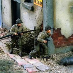 Infantería estadounidense en Europa. WWII. VERLINDEN 1437