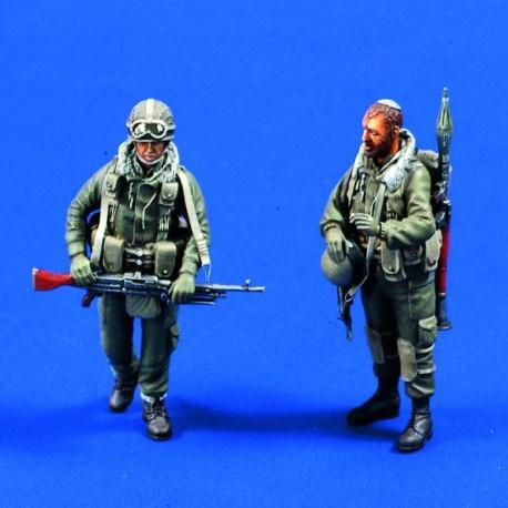 Israeli assault team. VERLINDEN 533
