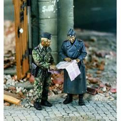 Grupo de reconocimiento alemán. WWII. VERLINDEN 995